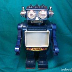 Juguetes antiguos de hojalata: ROBOT JAPONES HORIKAWA SUPER SPACE COMMANDER. Lote 181496778