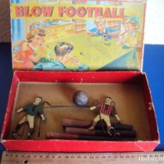 Juguetes antiguos de hojalata: (JU-191110)BLOW FOOTBALL - MADE IN ENGLAND. Lote 182571396