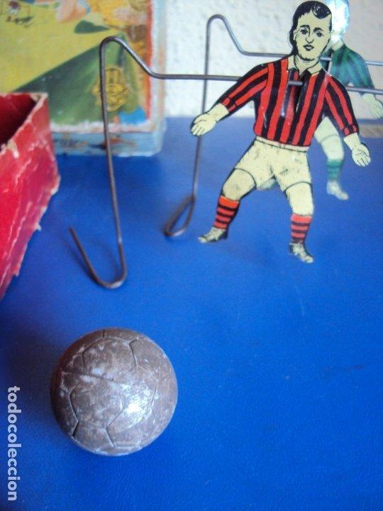 Juguetes antiguos de hojalata: (JU-191110)BLOW FOOTBALL - MADE IN ENGLAND - Foto 5 - 182571396