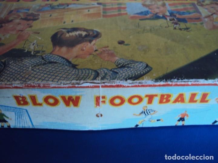 Juguetes antiguos de hojalata: (JU-191110)BLOW FOOTBALL - MADE IN ENGLAND - Foto 9 - 182571396