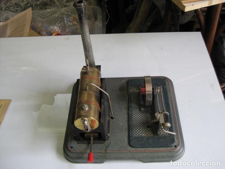 Juguetes antiguos de hojalata: PLANTA DE VAPOR MARKLIN Nº 4095 - MANUAL INSTRUCCIONES - Foto 2 - 182587073