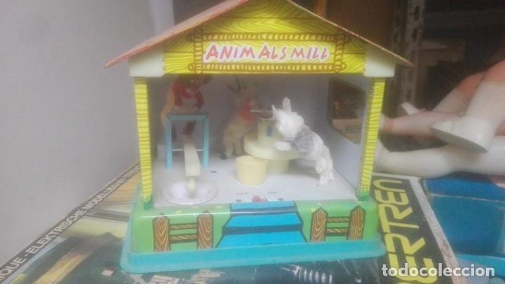 JUGUETE DE HOJALATA VINTAGE ANIMALS MILL (Juguetes - Juguetes Antiguos de Hojalata Extranjeros)