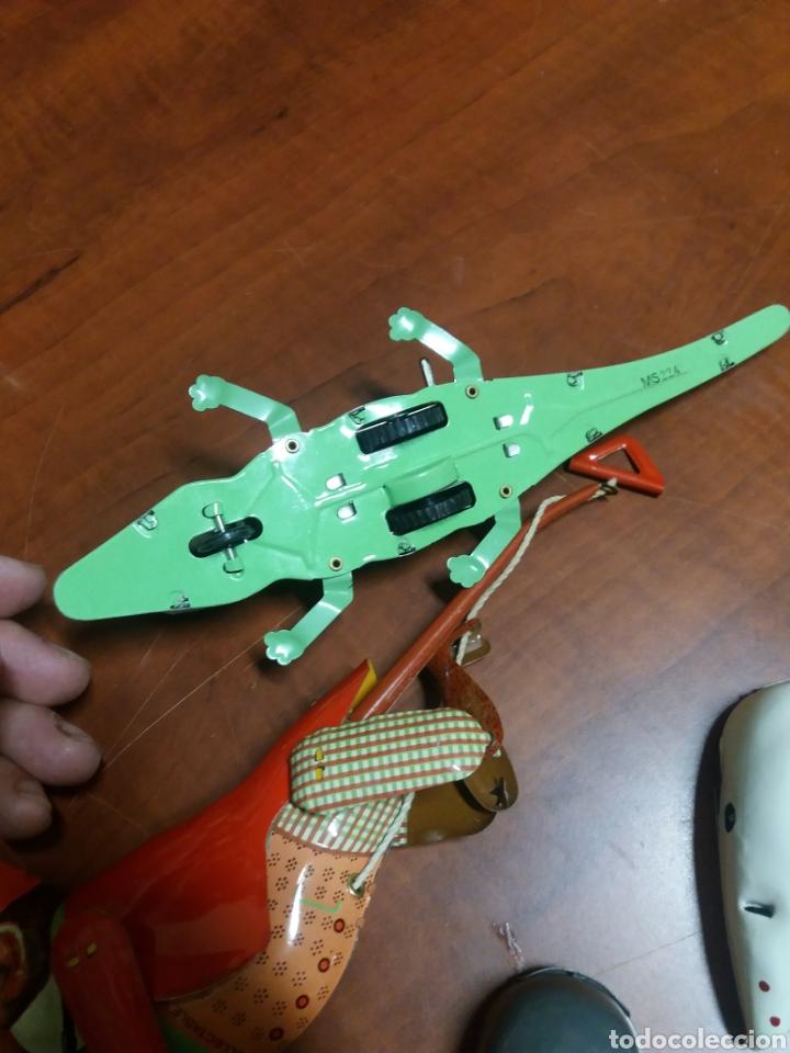 Juguetes antiguos de hojalata: lote juguetes de lata. - Foto 3 - 182897157