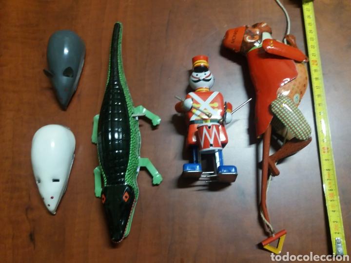 Juguetes antiguos de hojalata: lote juguetes de lata. - Foto 5 - 182897157