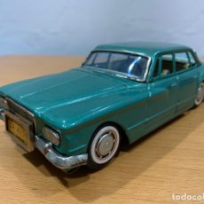 Juguetes antiguos de hojalata: BANDAI TIN TOY CAR PLYMOUTH VALIANT MADE IN JAPAN. Lote 183014133
