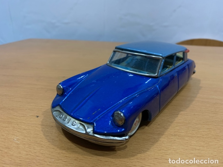 BANDAI TIN TOY CAR CITROEN DS 19 MADE IN JAPAN (Juguetes - Juguetes Antiguos de Hojalata Extranjeros)