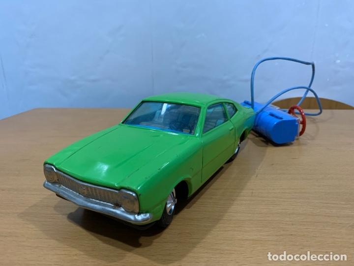 BANDAI TIN TOY CAR FORD MAVERICK ELECTRIC MADE IN JAPAN (Juguetes - Juguetes Antiguos de Hojalata Extranjeros)