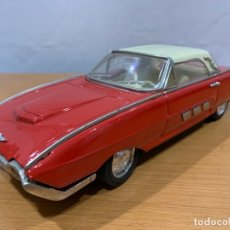 Juguetes antiguos de hojalata: MF 333 FORD THUNDERBIRD TIN TOY CAR MADE IN CHINA. Lote 183018552