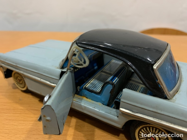 Juguetes antiguos de hojalata: MF 830 OLDSMOBILE TIN TOY CAR MADE IN CHINA AÑOS 60 - Foto 8 - 183019012