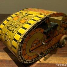 Juguetes antiguos de hojalata: TANQUE MARX DE HOJALATA. Lote 183426630