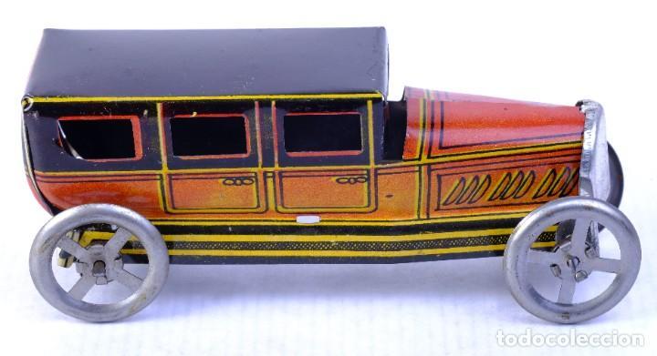 Juguetes antiguos de hojalata: Coche Limousine Rico en hojalata años 40 - Foto 2 - 183853920