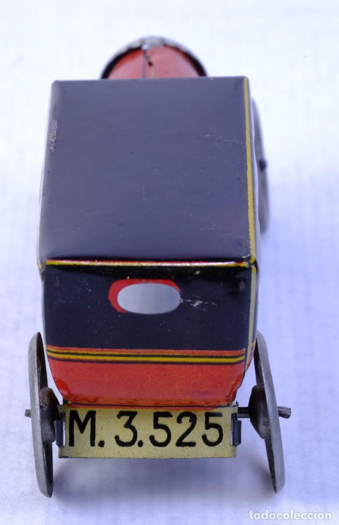 Juguetes antiguos de hojalata: Coche Limousine Rico en hojalata años 40 - Foto 3 - 183853920