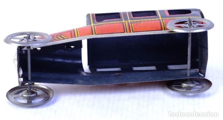 Juguetes antiguos de hojalata: Coche Limousine Rico en hojalata años 40 - Foto 4 - 183853920