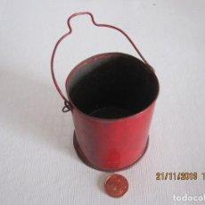 Juguetes antiguos de hojalata: JUEGO DE HOJALATA DE CUBO HACIA AÑOS 30 PAYA RICO. Lote 184034735