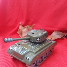 Juguetes antiguos de hojalata: TANQUE MEDIUM TANK M 98 MADE IN WESTERN GERMANY. Lote 184181326