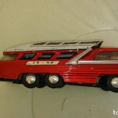 Juguetes antiguos de hojalata: CHINA BUS HOJALATA/TIN TOY BUS MYSTERY ACTION ME083. Lote 184219125