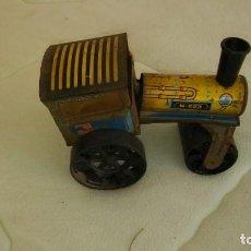 Juguetes antiguos de hojalata: MÁQUINA VAPOR MODELO N523 KOVODRUŽSTVO NÁCHOD CHECOSLOVAQUIA 1975. Lote 184230591