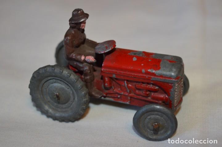 Juguetes antiguos de hojalata: MUY ANTIGUO - Principios 1900 - DIE CAST / Diecast - Tractor agrícola - Muy, muy raro, ¡Mirar fotos! - Foto 2 - 184535851
