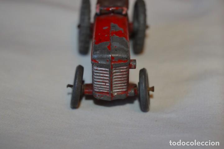Juguetes antiguos de hojalata: MUY ANTIGUO - Principios 1900 - DIE CAST / Diecast - Tractor agrícola - Muy, muy raro, ¡Mirar fotos! - Foto 3 - 184535851
