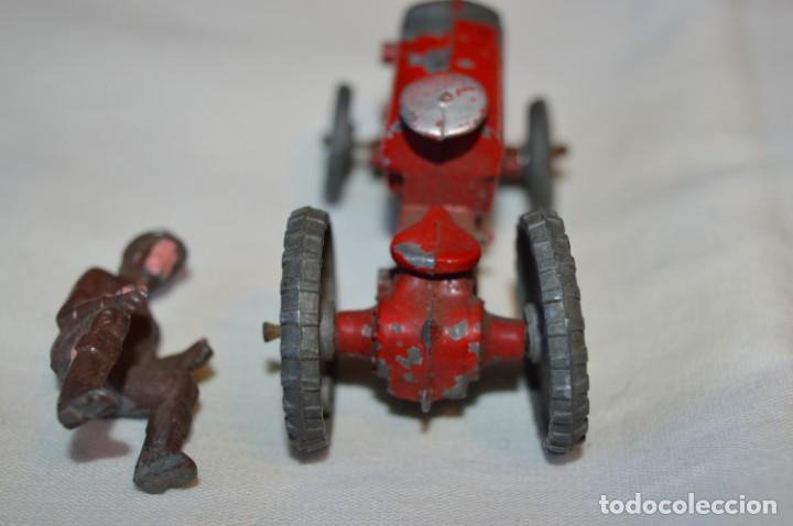 Juguetes antiguos de hojalata: MUY ANTIGUO - Principios 1900 - DIE CAST / Diecast - Tractor agrícola - Muy, muy raro, ¡Mirar fotos! - Foto 6 - 184535851