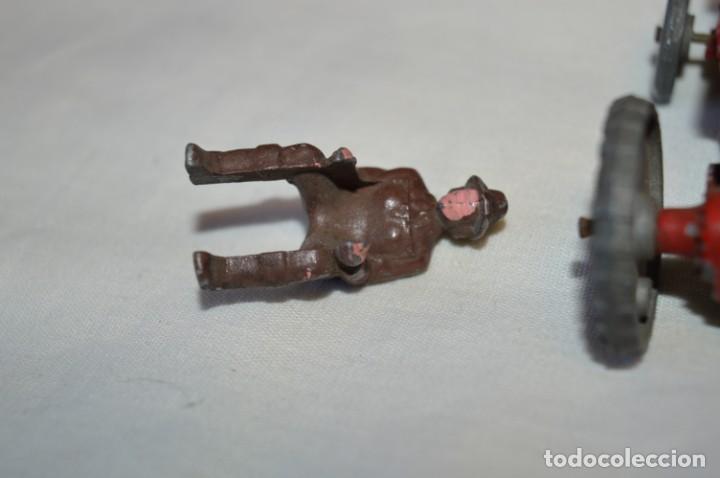 Juguetes antiguos de hojalata: MUY ANTIGUO - Principios 1900 - DIE CAST / Diecast - Tractor agrícola - Muy, muy raro, ¡Mirar fotos! - Foto 7 - 184535851