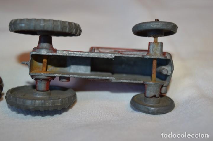 Juguetes antiguos de hojalata: MUY ANTIGUO - Principios 1900 - DIE CAST / Diecast - Tractor agrícola - Muy, muy raro, ¡Mirar fotos! - Foto 8 - 184535851