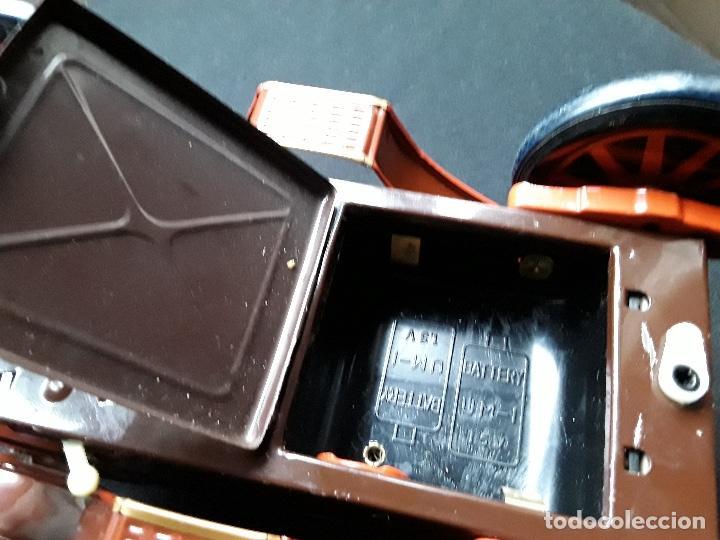 Juguetes antiguos de hojalata: COCHE DE HOJALATA ROSKO,MADE IN JAPAN,AÑOS 60 - Foto 14 - 184831756