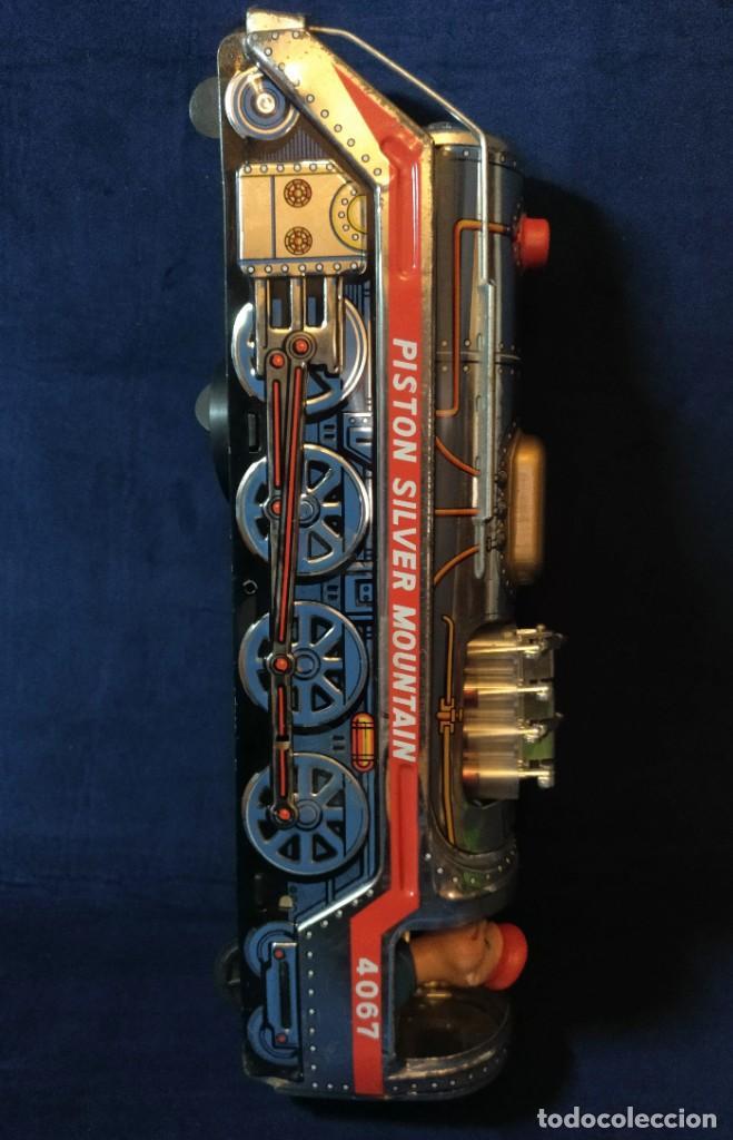 Juguetes antiguos de hojalata: Tren de Holata Expresso Piston Silver Mountain - Foto 18 - 186150103