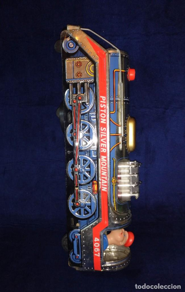 Juguetes antiguos de hojalata: Tren de Holata Expresso Piston Silver Mountain - Foto 19 - 186150103