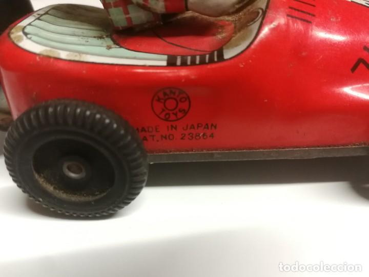 Juguetes antiguos de hojalata: Único. Coche japonés Kanto Toys - Foto 4 - 186266586