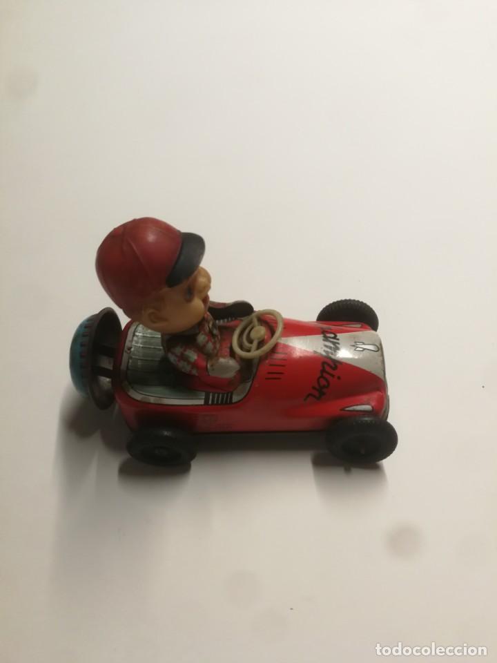 Juguetes antiguos de hojalata: Único. Coche japonés Kanto Toys - Foto 5 - 186266586