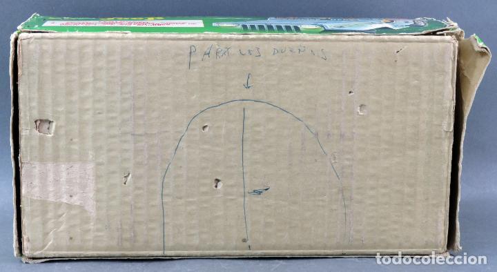 Juguetes antiguos de hojalata: Police Patrol Nomura Toys Battery Operated Japan Jeep japonés policía a pilas con caja años 60 - Foto 14 - 189091448