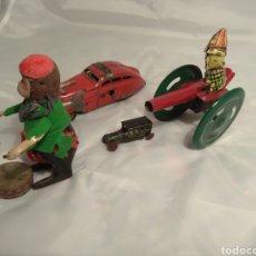 Juguetes antiguos de hojalata: LOTE SCHUCO Y OTROS (NO PAYA). Lote 189523521