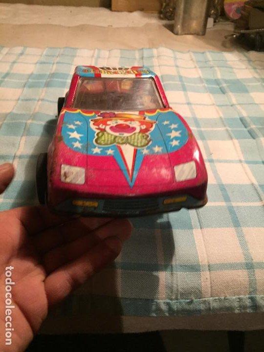 Juguetes antiguos de hojalata: Antiguo coche de juguete modelo Big circus marca Roman años 70 - Foto 2 - 189596996