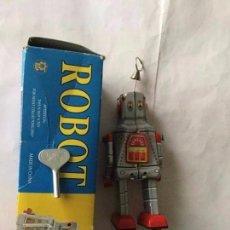 Juguetes antiguos de hojalata: ROBOT - PROTOCOL - 14 CM. - NUEVO. Lote 190226183