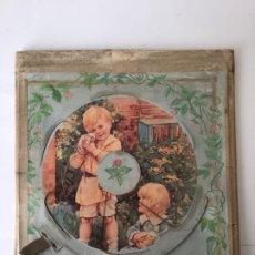 Juguetes antiguos de hojalata: ANTIGUO JUEGO INFANTIL FINALES SIGLO XIX . ORIGINAL. Lote 190631943