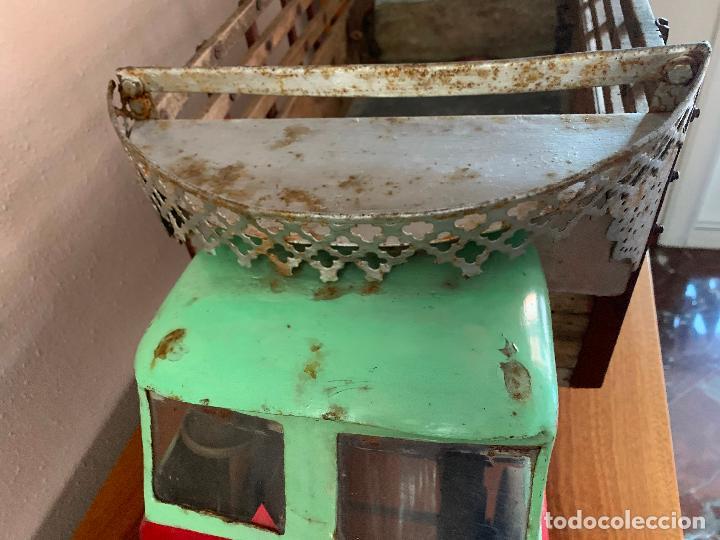 Juguetes antiguos de hojalata: CAMION PEGASO Z-202 73 CMS AÑOS 50 - Foto 5 - 190852410
