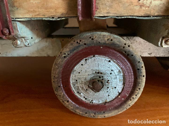 Juguetes antiguos de hojalata: CAMION PEGASO Z-202 73 CMS AÑOS 50 - Foto 12 - 190852410