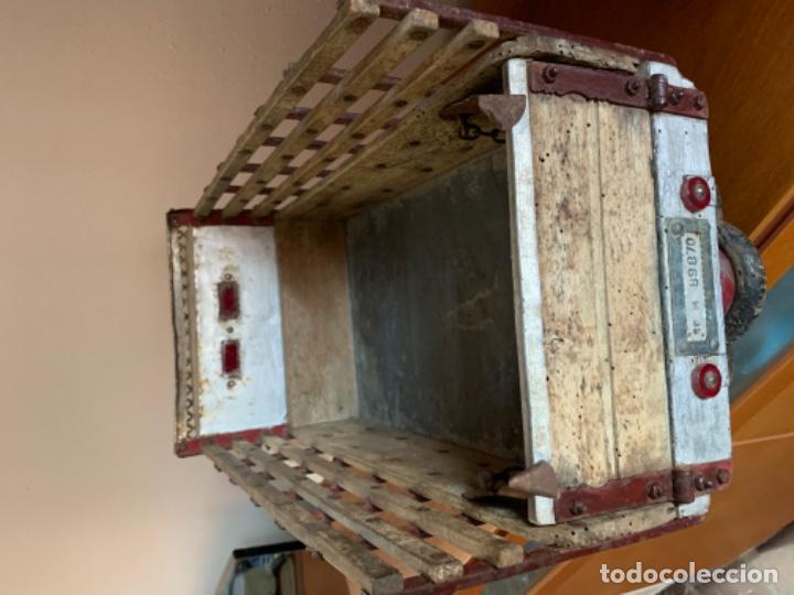 Juguetes antiguos de hojalata: CAMION PEGASO Z-202 73 CMS AÑOS 50 - Foto 27 - 190852410
