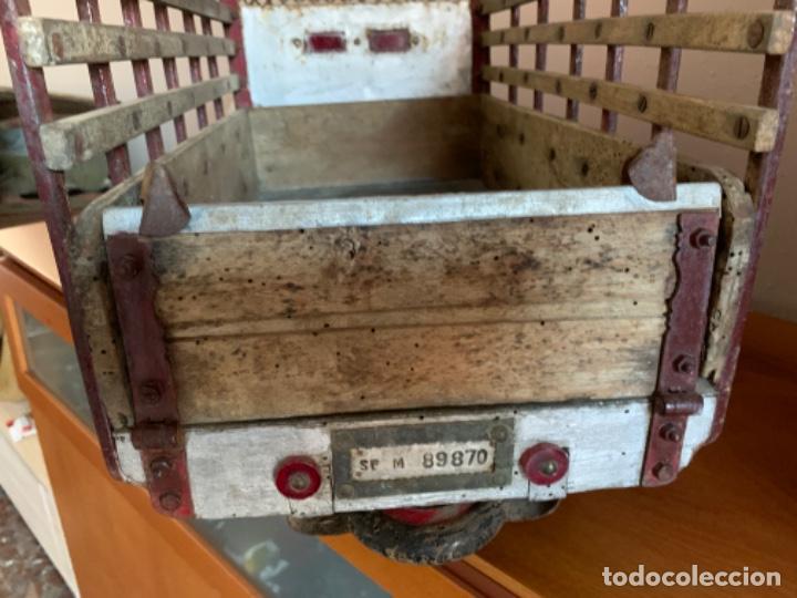 Juguetes antiguos de hojalata: CAMION PEGASO Z-202 73 CMS AÑOS 50 - Foto 28 - 190852410