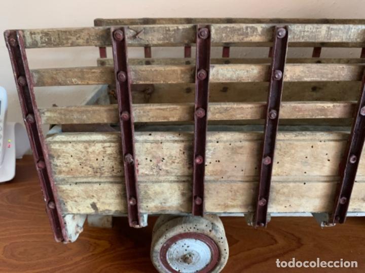 Juguetes antiguos de hojalata: CAMION PEGASO Z-202 73 CMS AÑOS 50 - Foto 33 - 190852410