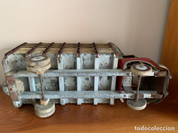 Juguetes antiguos de hojalata: CAMION PEGASO Z-202 73 CMS AÑOS 50 - Foto 40 - 190852410