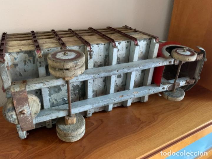 Juguetes antiguos de hojalata: CAMION PEGASO Z-202 73 CMS AÑOS 50 - Foto 41 - 190852410