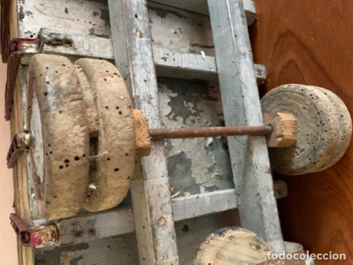 Juguetes antiguos de hojalata: CAMION PEGASO Z-202 73 CMS AÑOS 50 - Foto 43 - 190852410