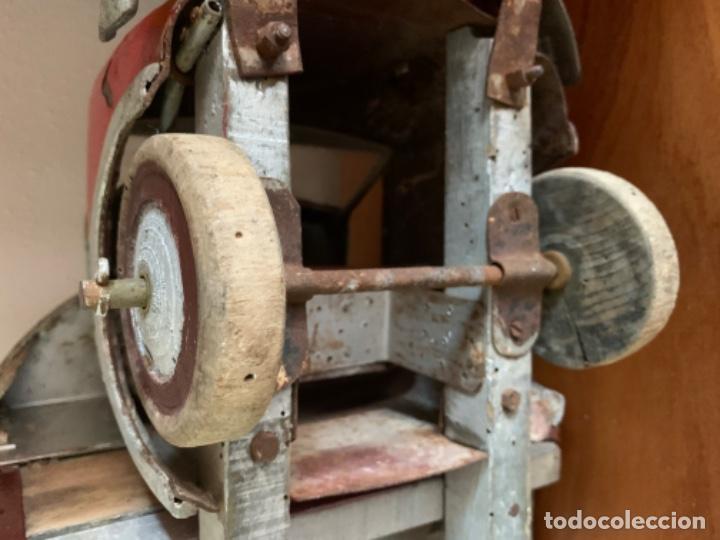 Juguetes antiguos de hojalata: CAMION PEGASO Z-202 73 CMS AÑOS 50 - Foto 44 - 190852410