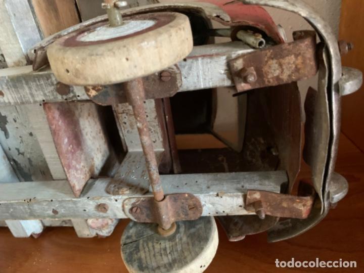 Juguetes antiguos de hojalata: CAMION PEGASO Z-202 73 CMS AÑOS 50 - Foto 45 - 190852410