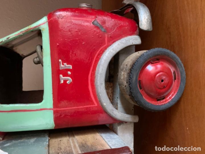 Juguetes antiguos de hojalata: CAMION PEGASO Z-202 73 CMS AÑOS 50 - Foto 48 - 190852410