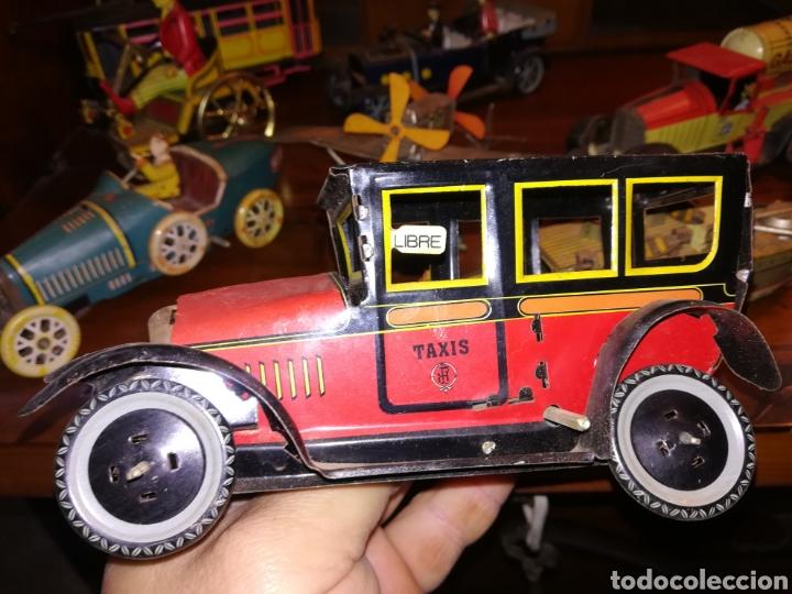 Juguetes antiguos de hojalata: Lote de 9 viejos juguetes de hojalata PH - Foto 11 - 190875717