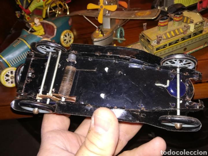 Juguetes antiguos de hojalata: Lote de 9 viejos juguetes de hojalata PH - Foto 14 - 190875717