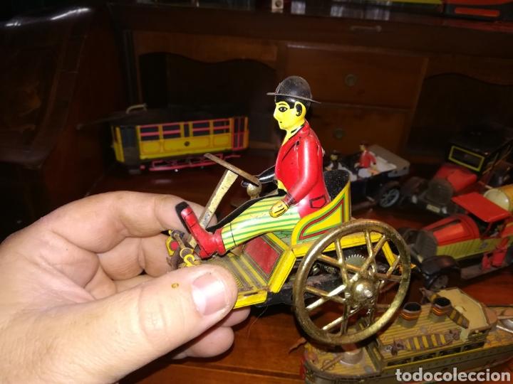 Juguetes antiguos de hojalata: Lote de 9 viejos juguetes de hojalata PH - Foto 16 - 190875717